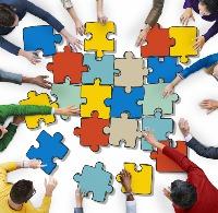 Lean Mfg. jigsaw pieces